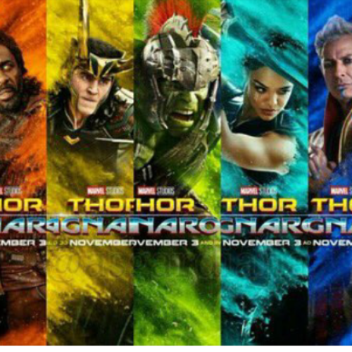Photo: Thor Ragnarok and the Rainbow Colours
