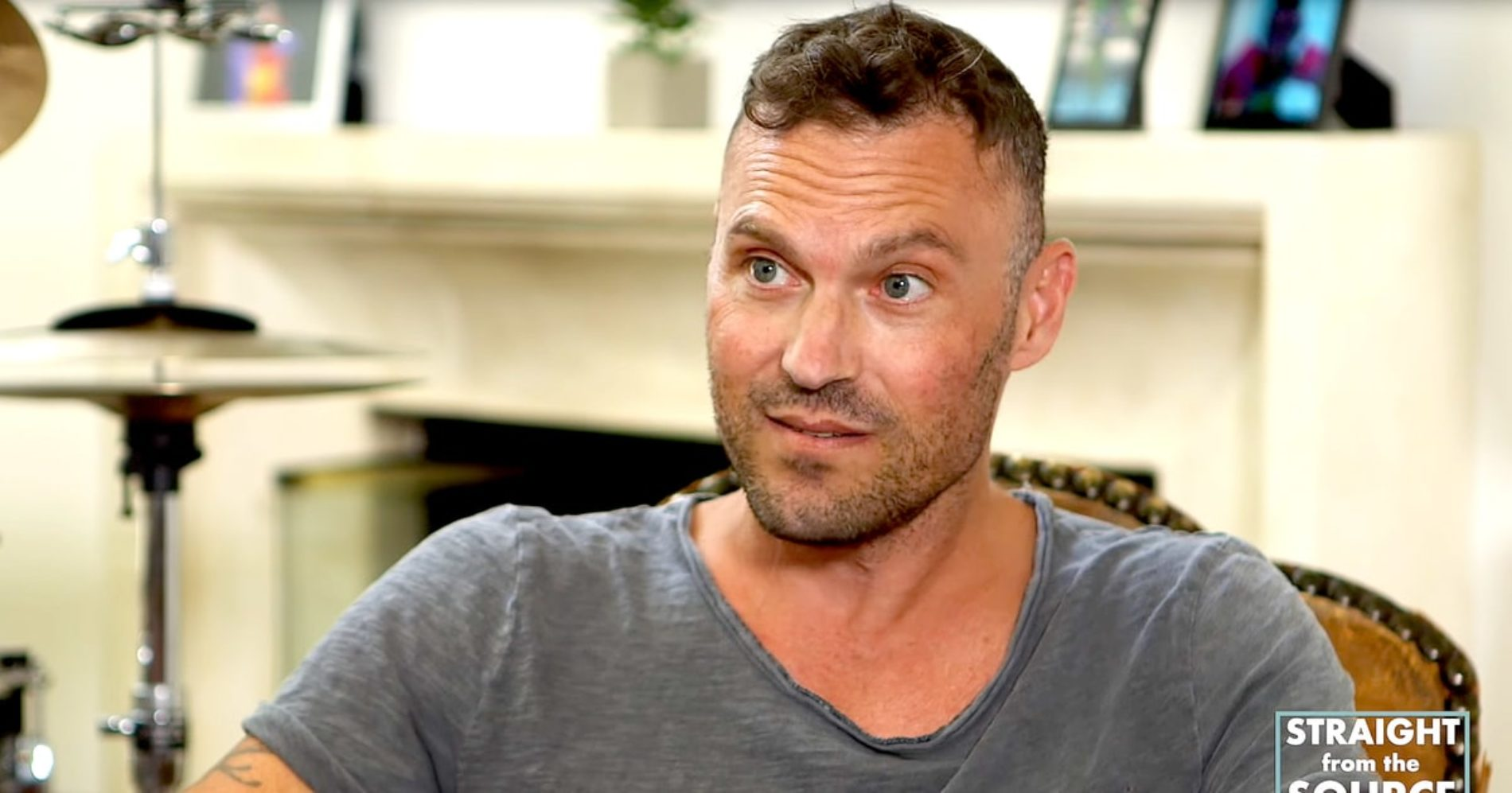 """If he wants to wear a dress…Awesome."" Actor Brian Austin Green defends son's attire"