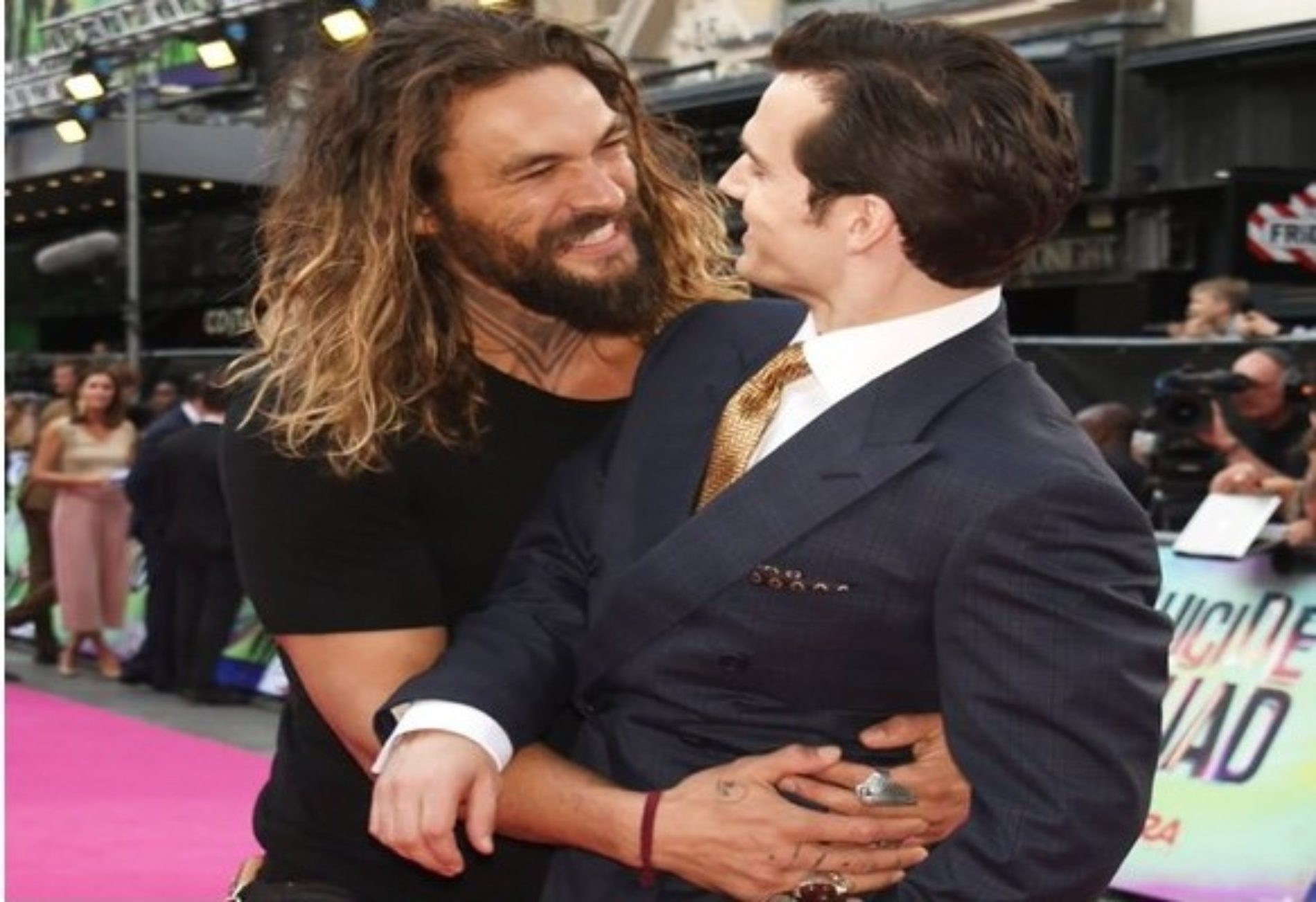 Photo: The Superman and Aquaman Bromance