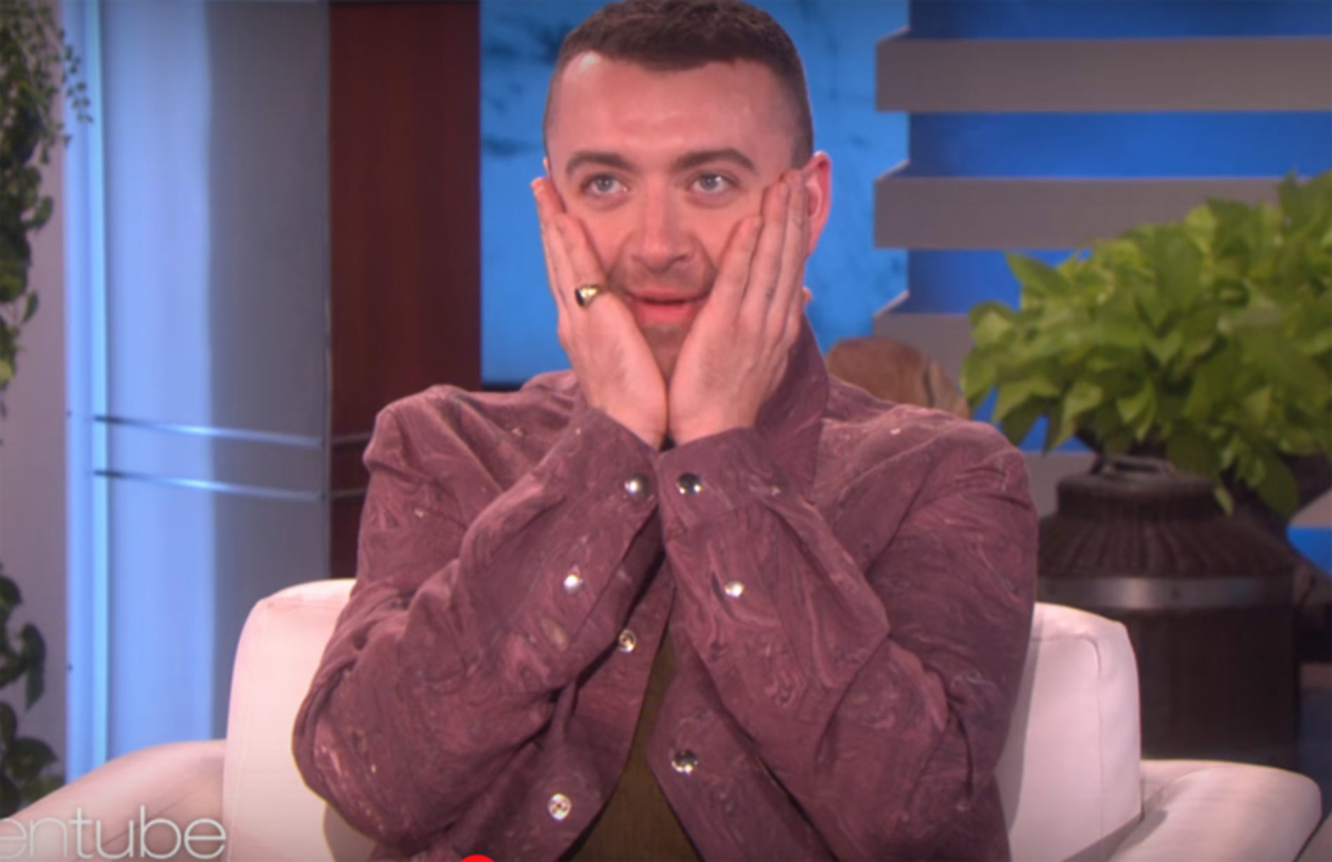 """I'm now singing songs about another guy."" Sam Smith finally talks about boyfriend on Ellen"