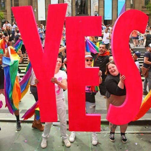 Australia Says Yes To Same-Sex Marriage