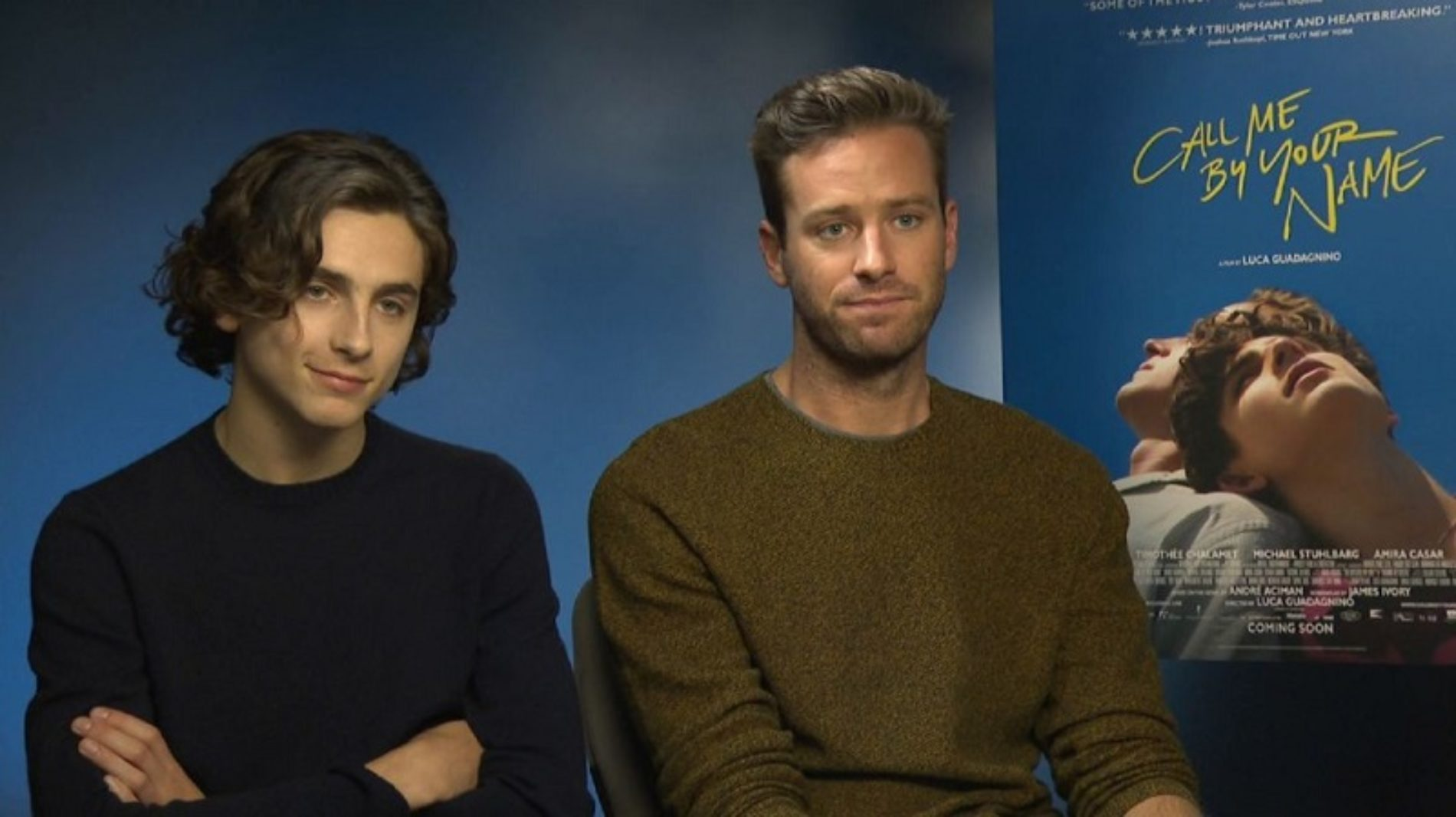 Armie Hammer Defends The Age Gap In 'Call Me By Your Name'