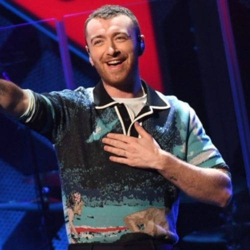 Sam Smith credits his new boyfriend Brandon Flynn with making him think he deserves to be happy