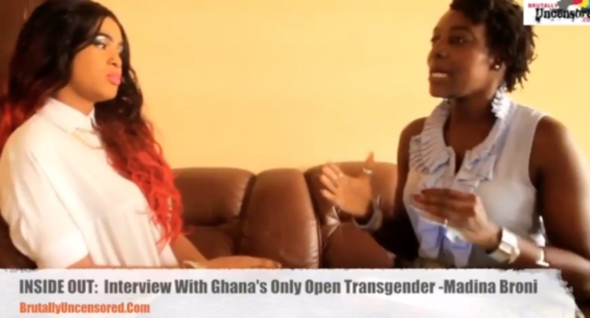 Ignorant interviewer slammed for unprofessional attitude toward Ghana's 'first' transgender female