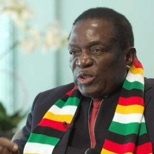 President Mugabe's successor, Emmerson Mnangagwa, says he won't legalize gay relations in Zimbabwe