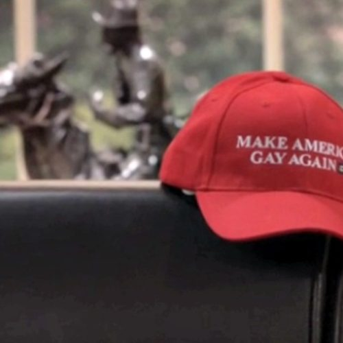 Gay Trump-Supporter slides into a DM and gets schooled