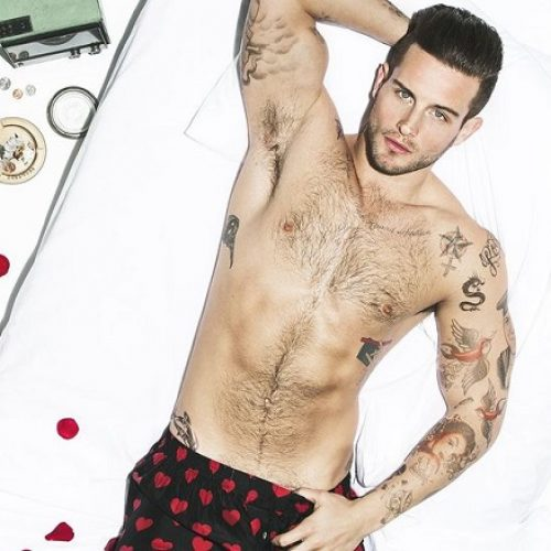 Actor Nico Tortorella dedicates a poem to his penis