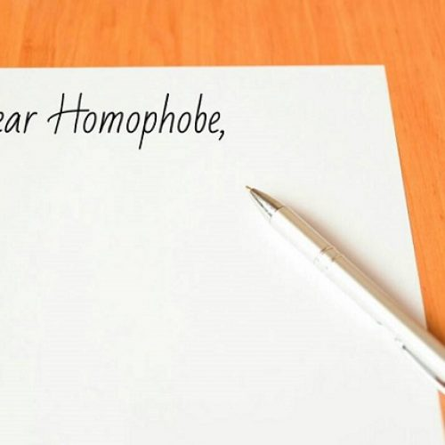 LETTER TO MY HOMOPHOBIC EX-FRIEND