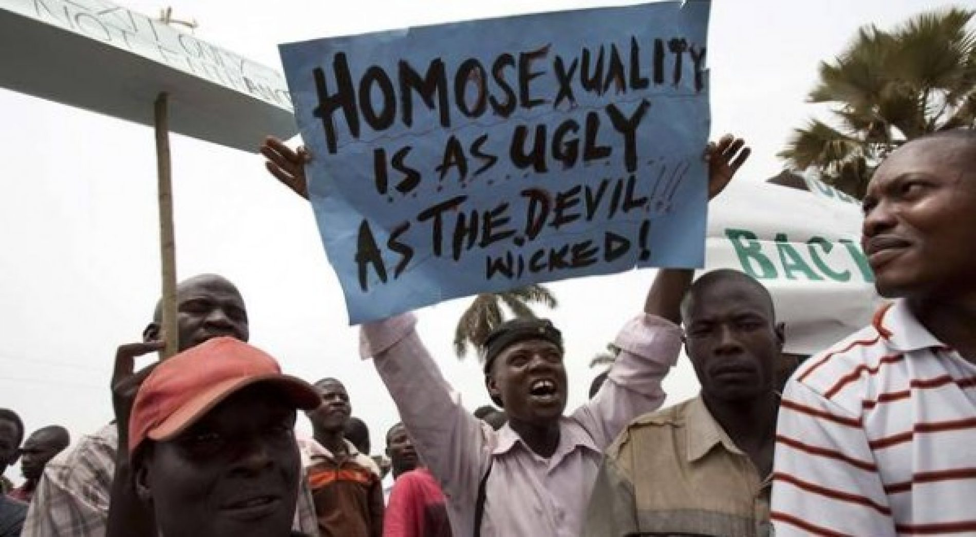 Tweet: Stages of Grief for the African Homophobe