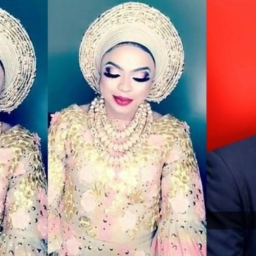 Bobrisky says (s)he's a bride, talks about getting married to a billionaire