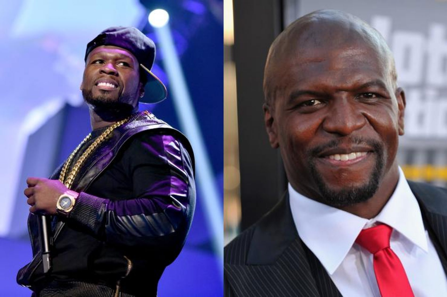 50 Cent mocks Terry Crews over his sexual assault