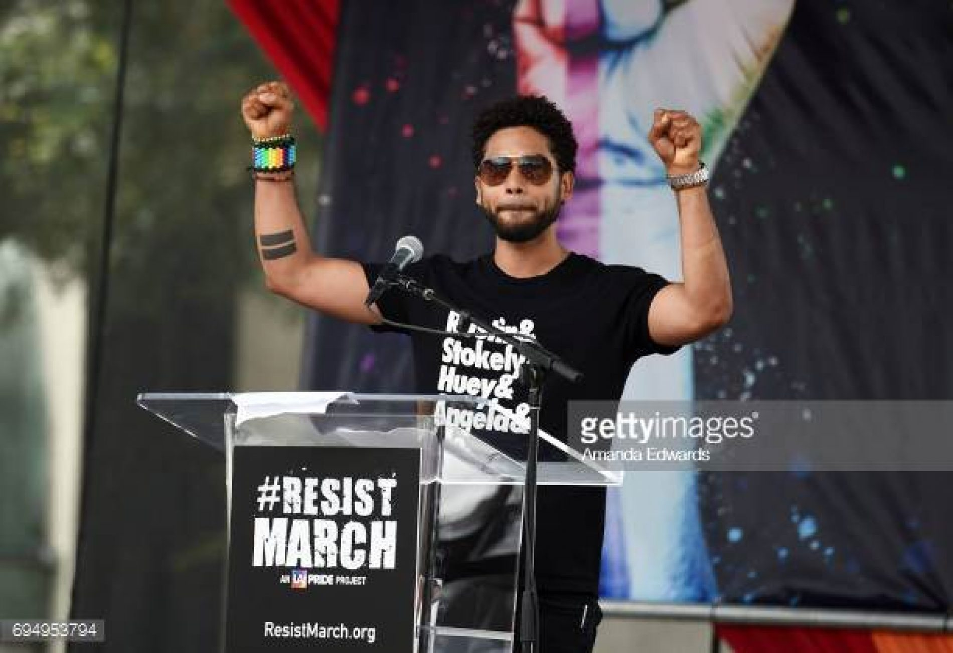 """Everything Starts With Love."" Jussie Smollett's Powerful Pride Message"