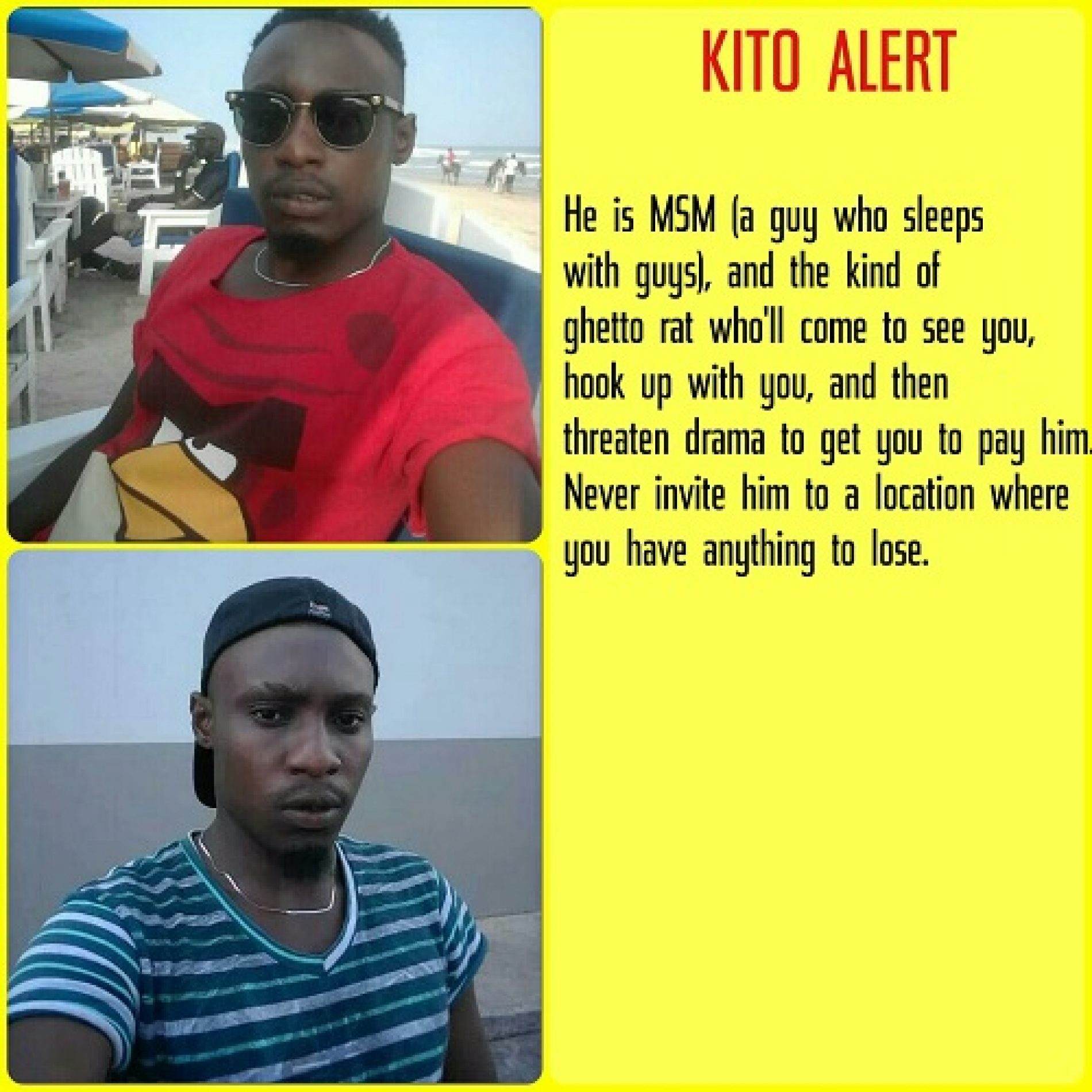 Kito Directory: A Rundown Of The Dangerous Faces So Far Exposed