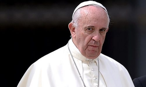 """""""Family As Man and Woman Is The Only One."""" Pope Francis says same-sex couples can't be considered family"""