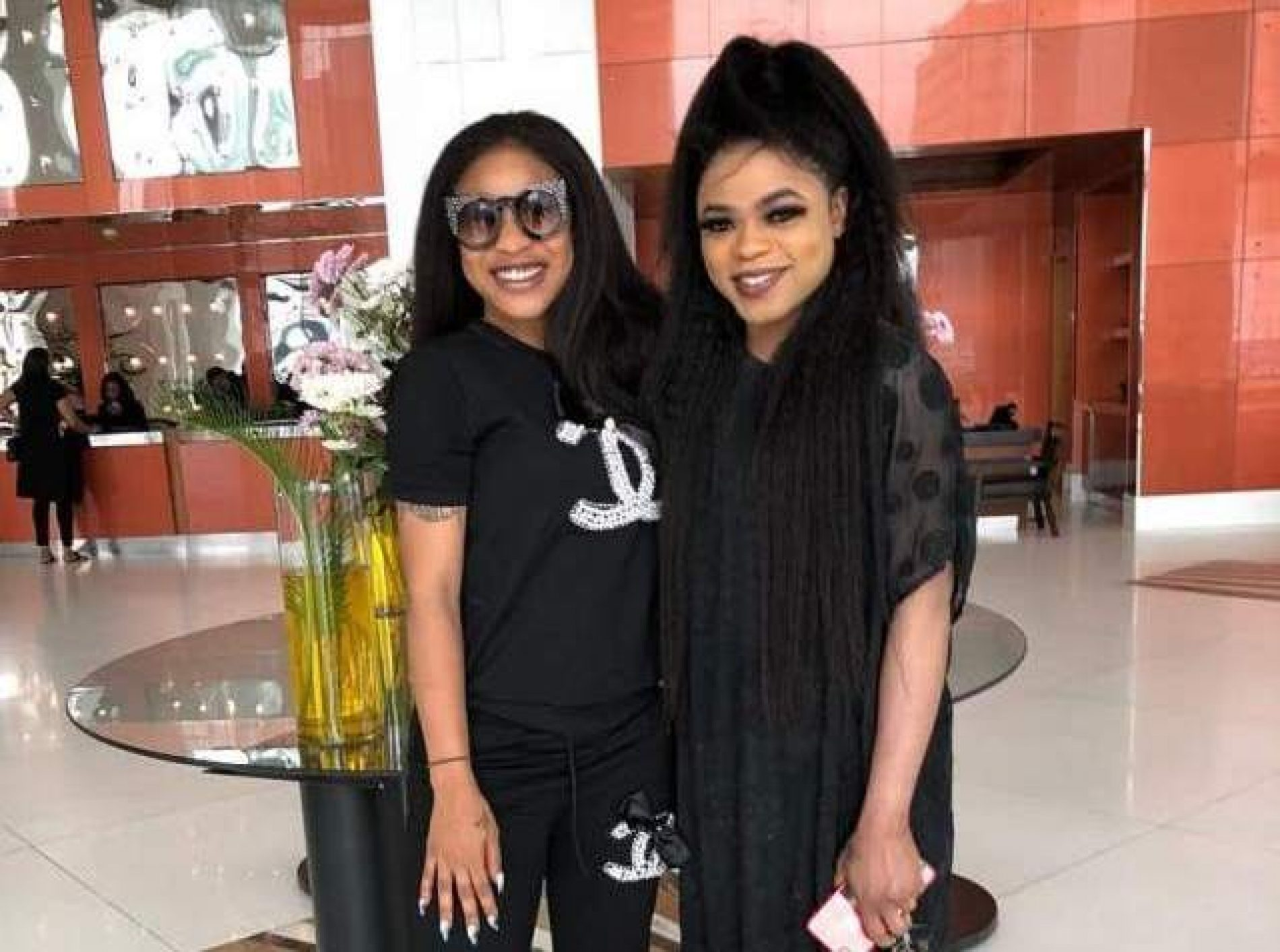 Tonto Dikeh and Bobrisky are Nigeria's latest celebrity besties