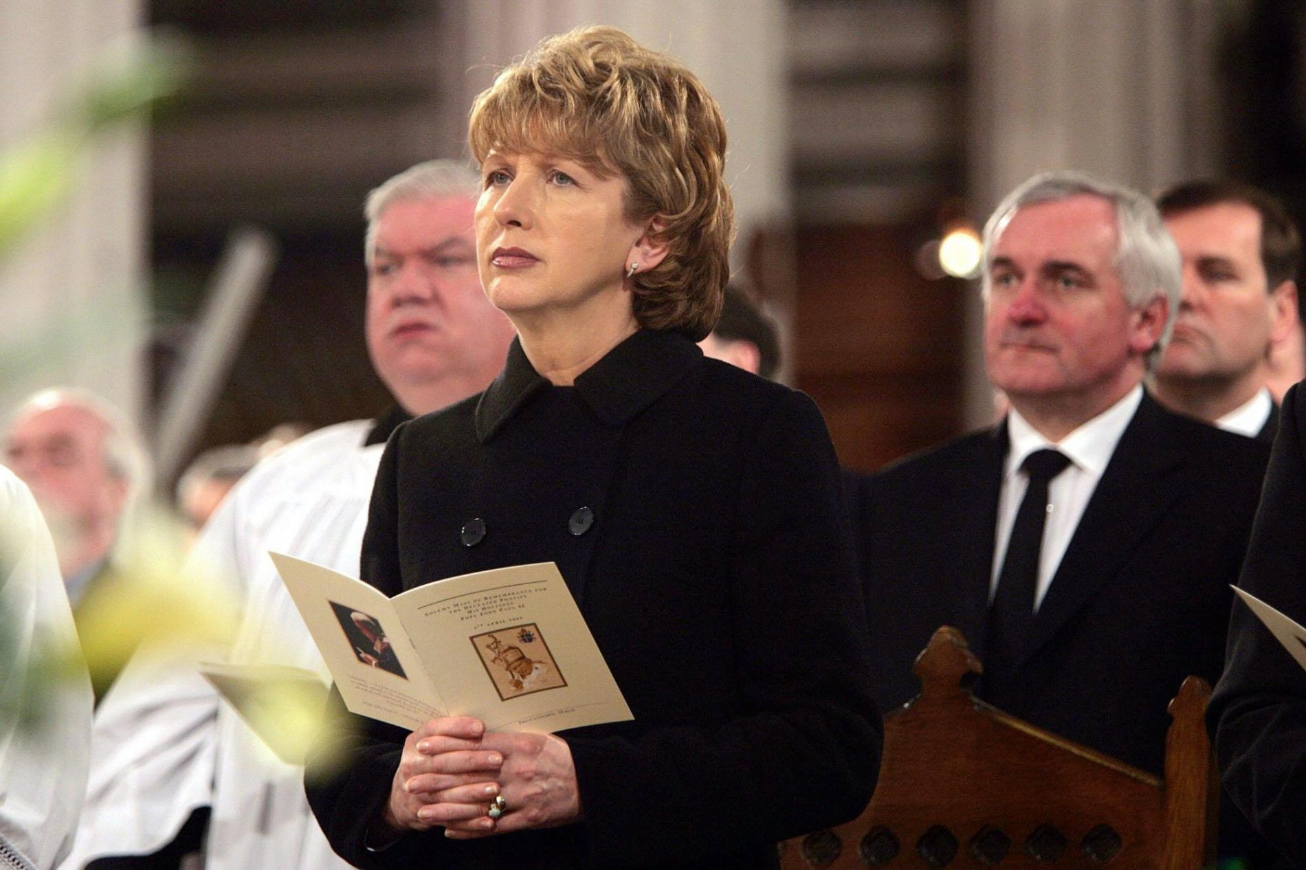Former Ireland President Mary McAleese says Catholic Church teaching on Homosexuality is Evil