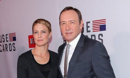 """""""I Didn't Know The Man."""" Robin Wright Breaks Silence On 'House of Cards' Costar Kevin Spacey"""