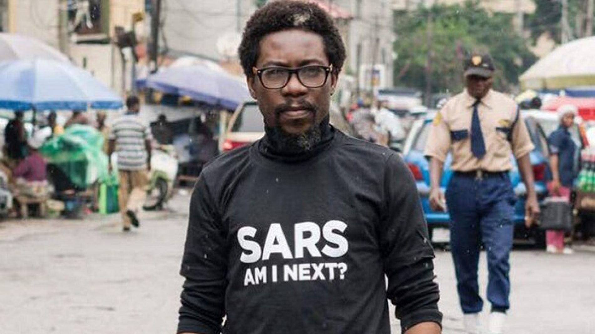 """The LGBT community now harass police officers."" Civil rights activist and anti-SARS campaigner, Segun Awosanya exposes his bigotry on Twitter"