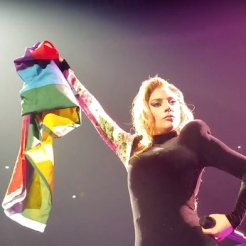 """Behind every female icon is a gay man."" – Lady Gaga"