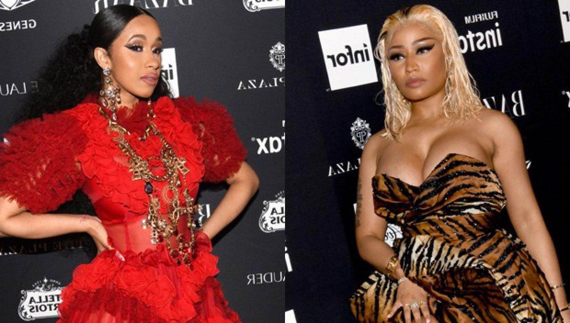 We now live in a Post-Cardi B/Nicki Minaj Fight World