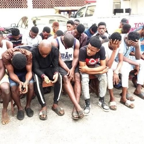 The Piece About How The Police Framed The 57 'Gay Suspects' Rounded Up At Egbeda For Homosexual Acts