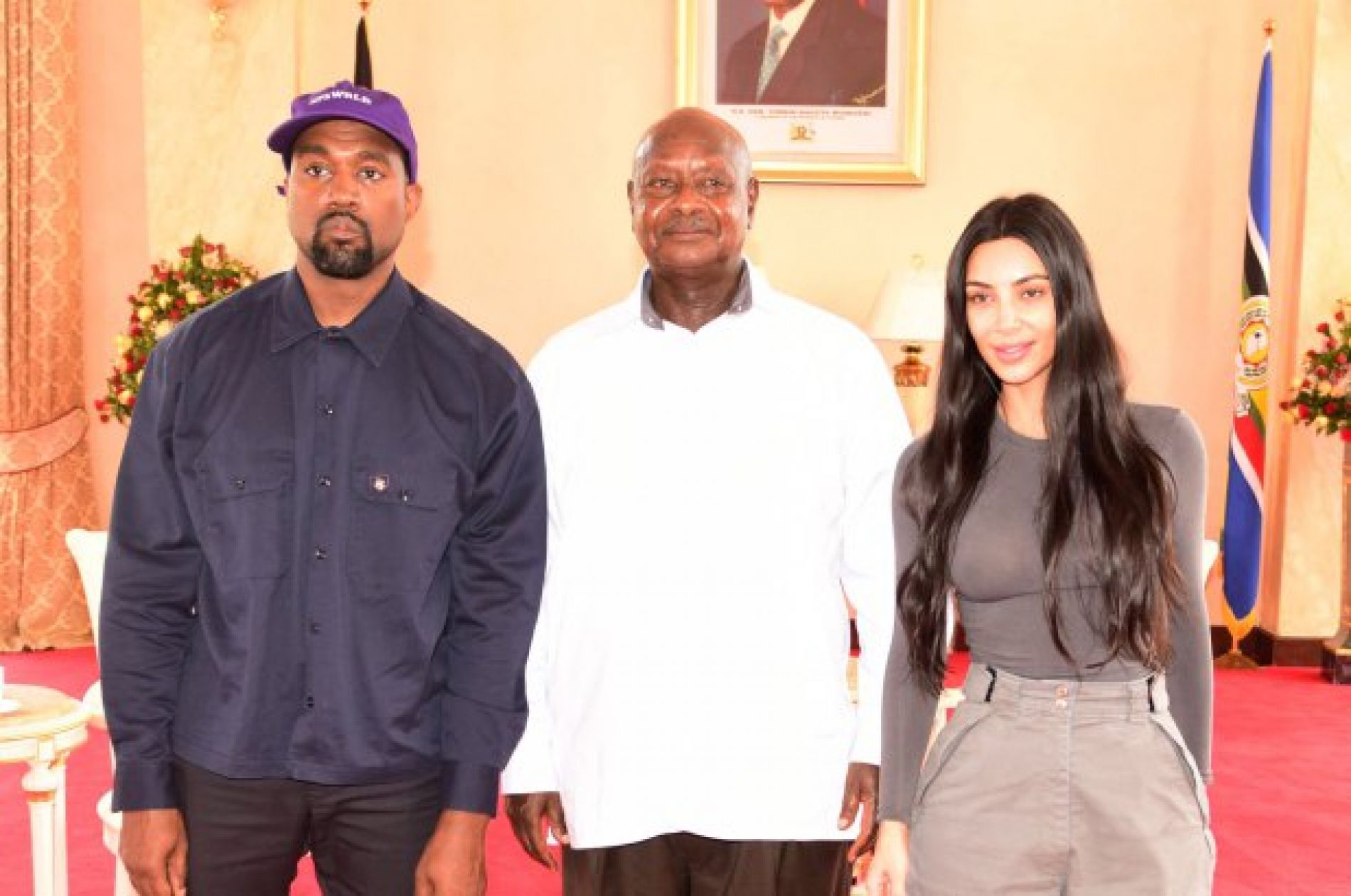 Kanye West and Kim Kardashian are being criticized for meeting with Uganda's Anti-Gay President