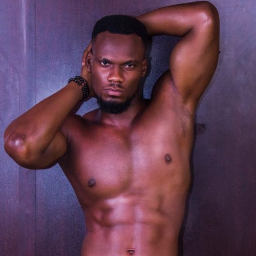 There's a Mr. Nigeria 2018 and he is a very sexy Nelson Enwerem
