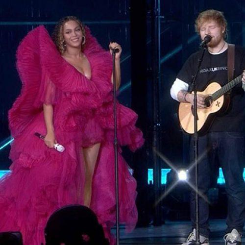 Beyoncé & Ed Sheeran's Stage Outfits Ignite Gender Standards Debate