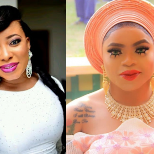 """Until You're Caught With Your Fellow Man, Then I Will Deny You."" Actress Liz Anjorin says in her appreciation of Bobrisky"