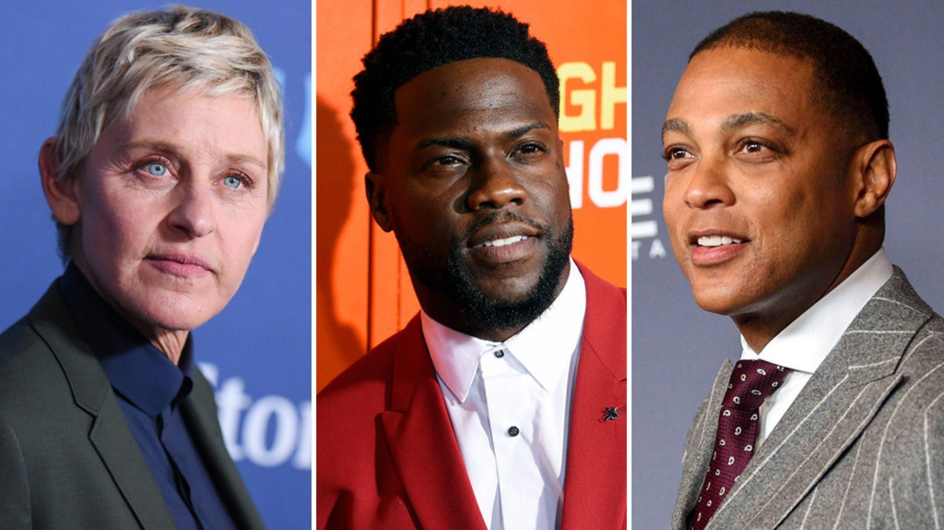 Ellen DeGeneres Faces Backlash After Defending Kevin Hart During Interview | Don Lemon Criticizes Kevin Hart For Making Himself The Victim Instead Of LGBT Community