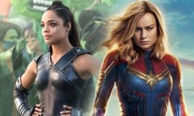 Fans want a Captain Marvel and Valkyrie team-up, and Brie Larson and Tessa Thompson are in