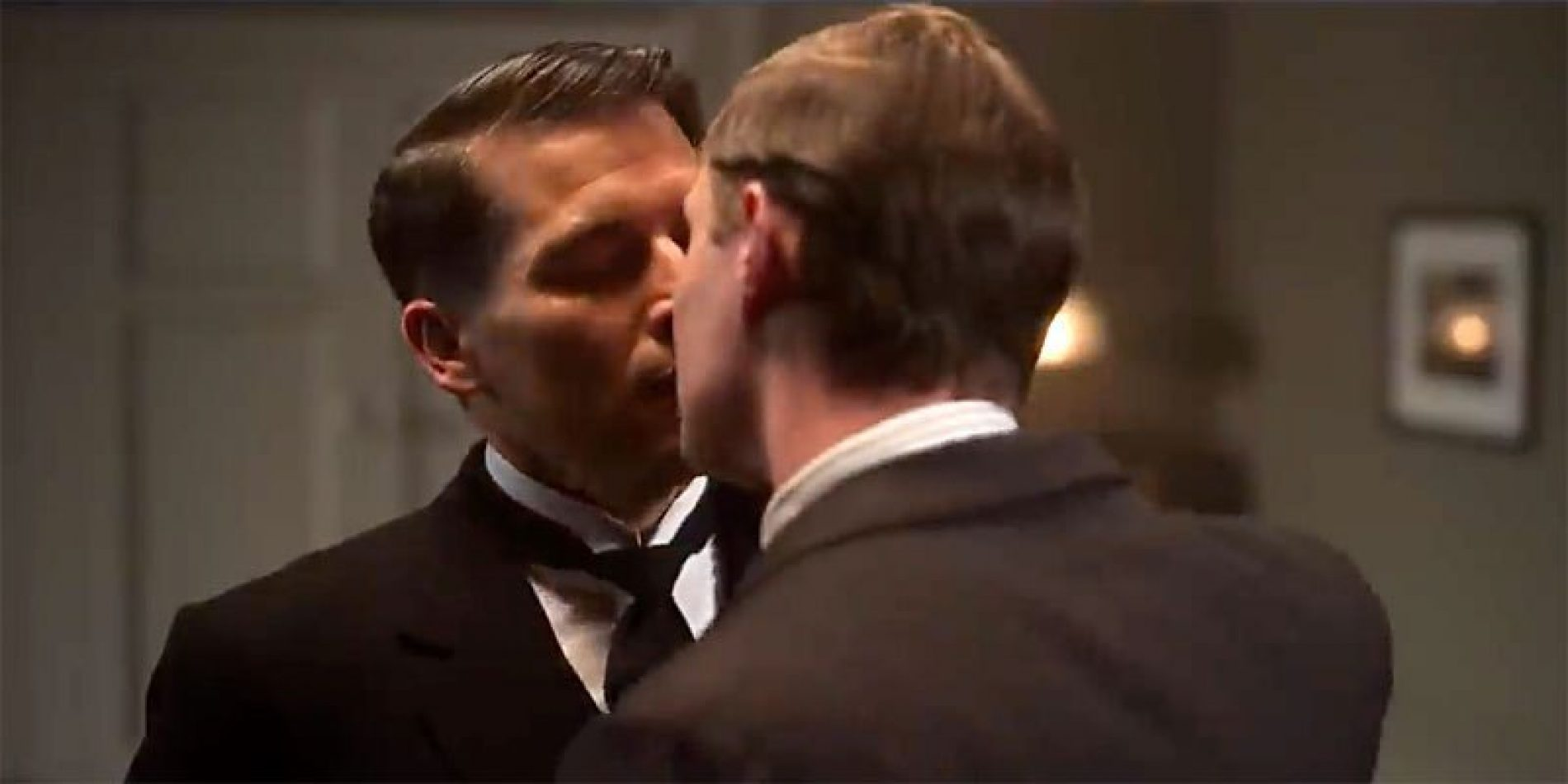 The trailer for the Downton Abbey movie drops, and there's some same-sex lip-locking