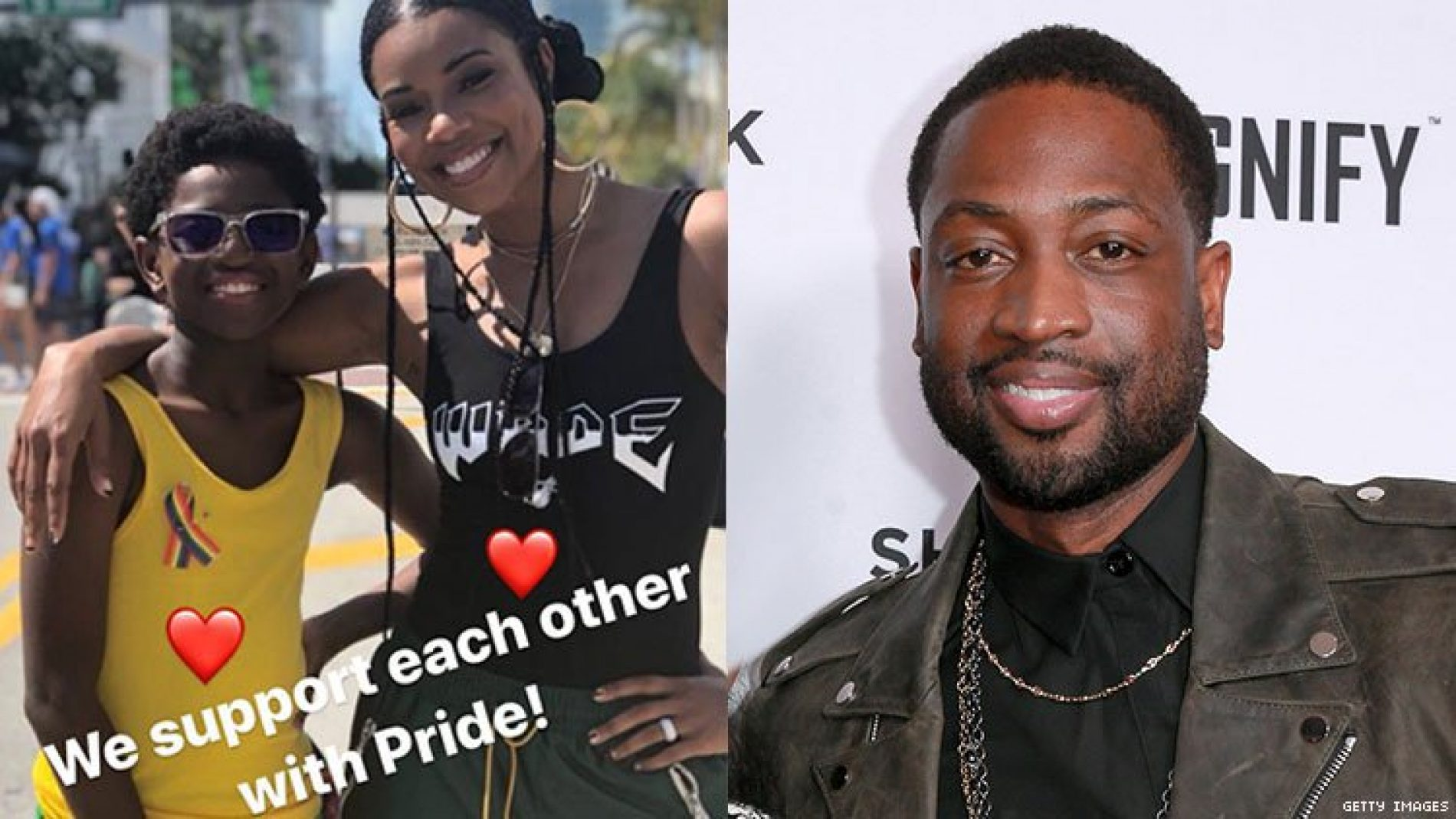"""""""It's My Job As A Father."""" Dwayne Wade Responds to the Criticism for Supporting His Son at Pride"""