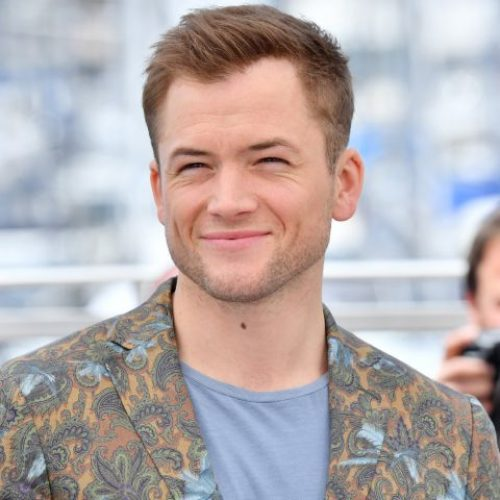 Watch as Taron Egerton learns of a gay sex slang