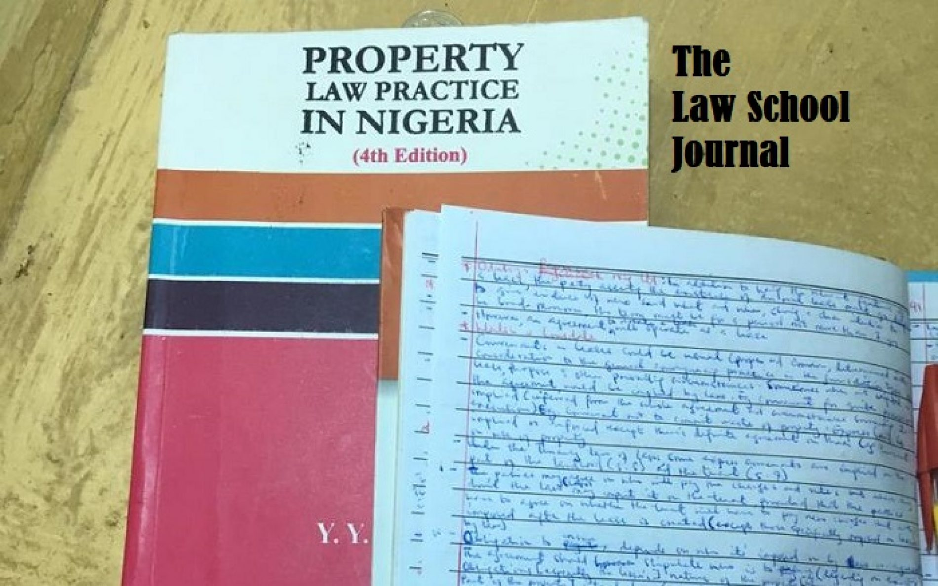 The Law School Journal (Entry 3)