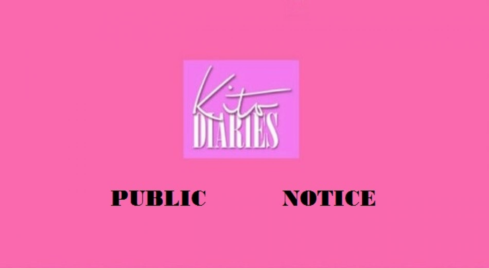 Public Notice: Search For Accommodation