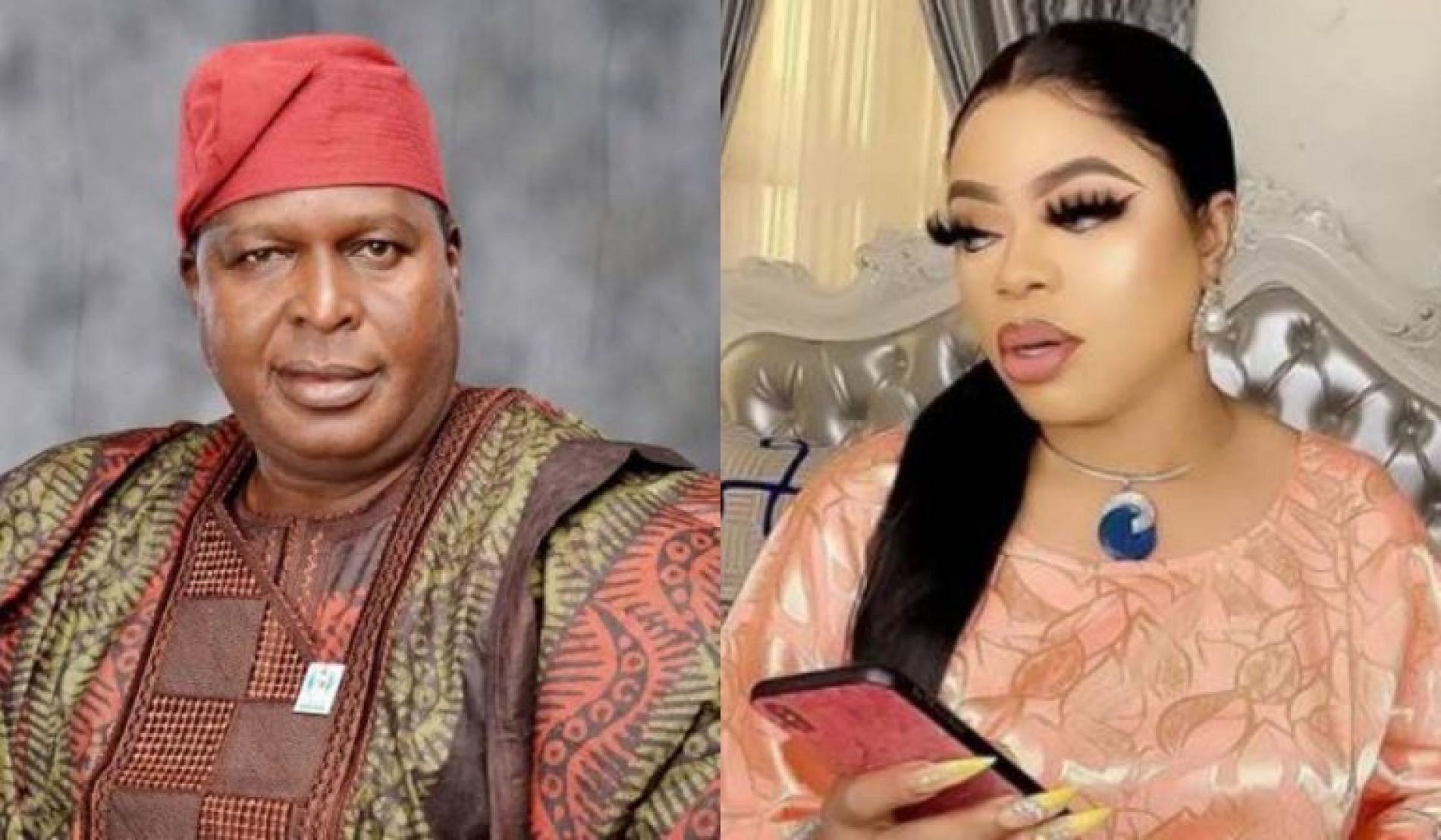 Otunba Runsewe comes for Bobrisky again, advising women to not share public toilets with Bobrisky