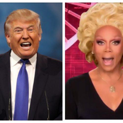 Donald Trump accidentally created a 'RuPaul's Drag Race' hashtag