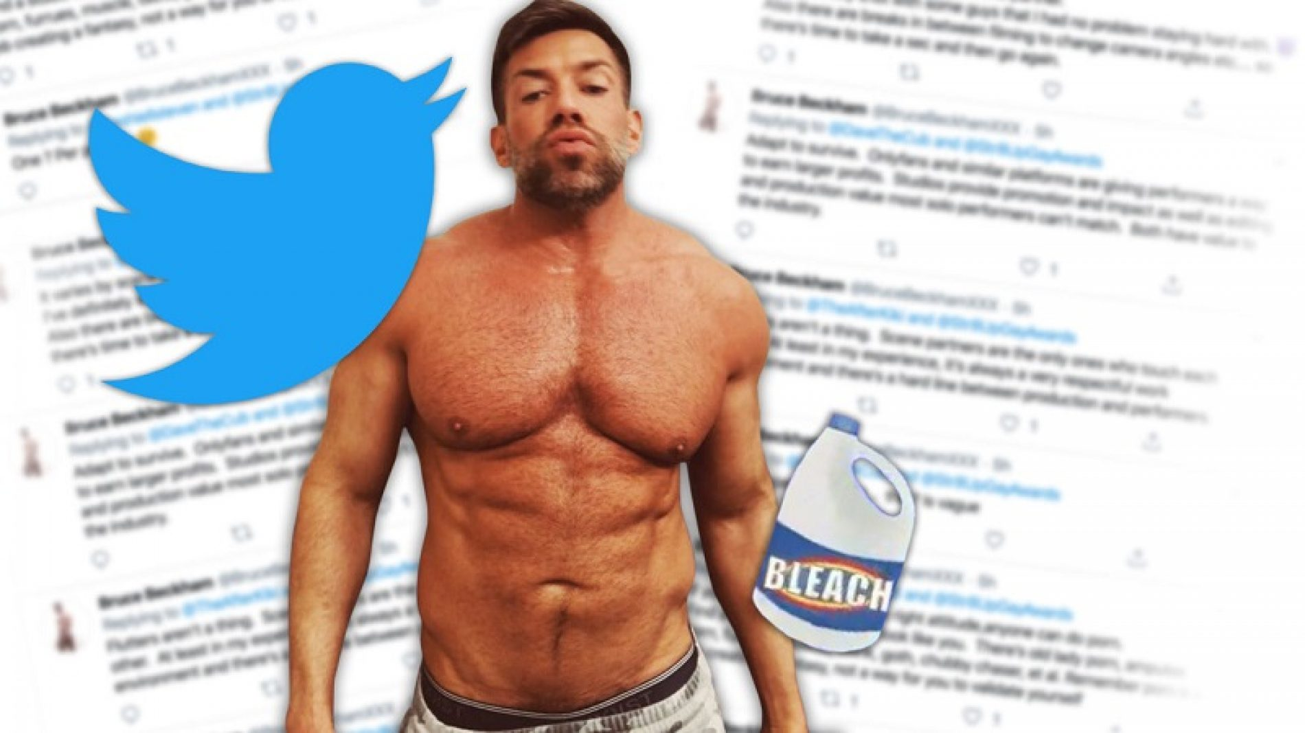 """Bottoms Call More Shots than Tops."" Porn Star Bruce Beckham Shares Industry Secrets In Twitter Q&A"