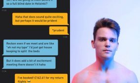 This guy booked a flight to meet a hookup from Grindr guy before even knowing his name