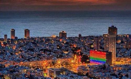 Gay Pride And Tel Aviv's Rainbow Colours