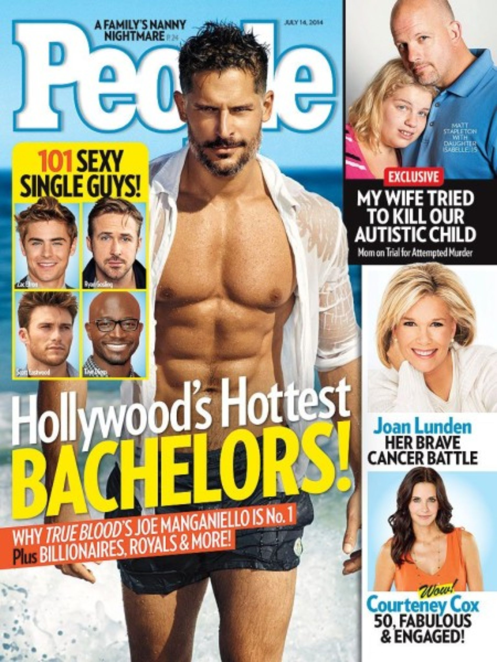 Actor Joe Manganiello named People Magazine's Hottest Bachelor