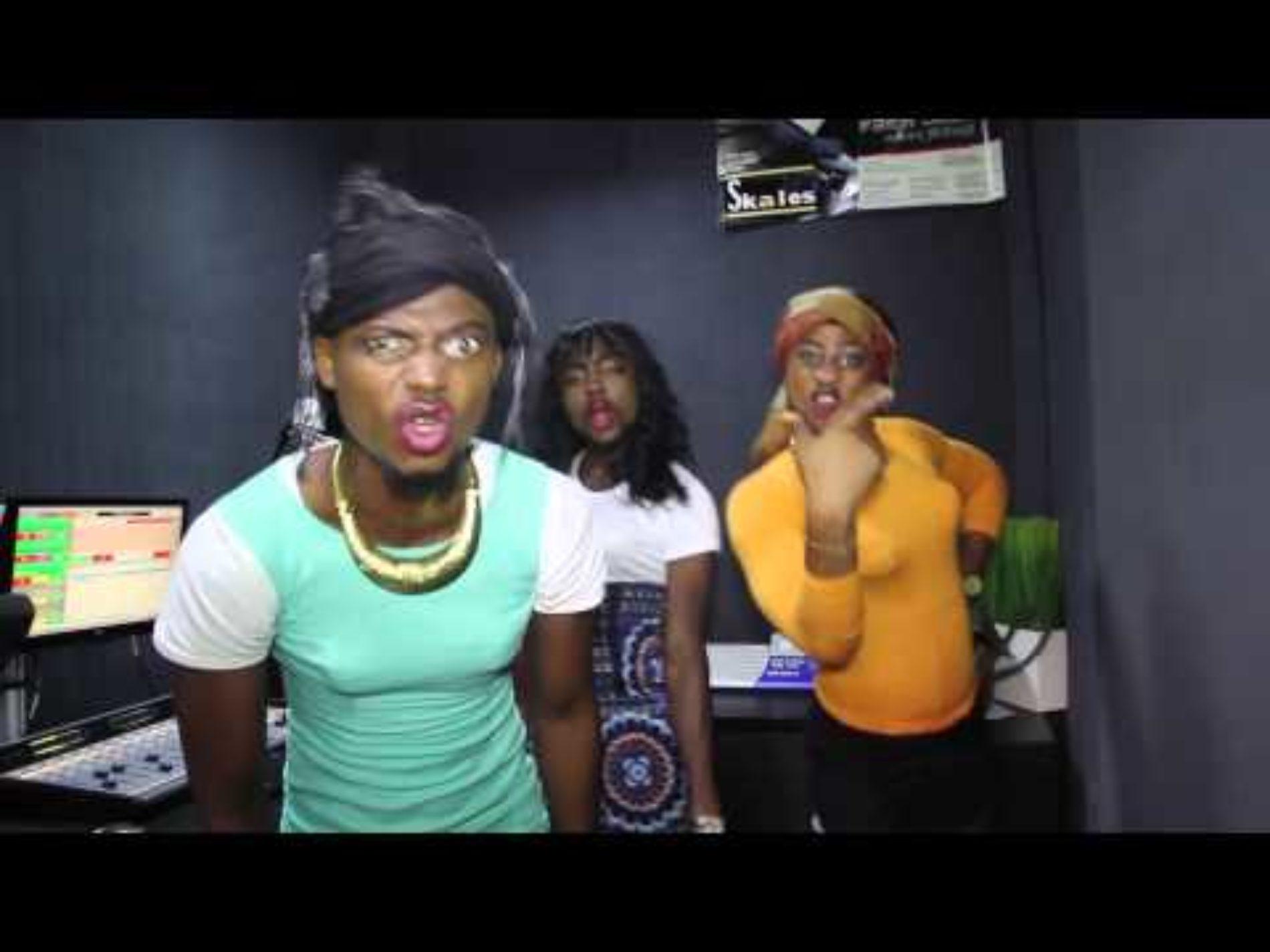 Hilarious Video: Remix Of Davido's Aye