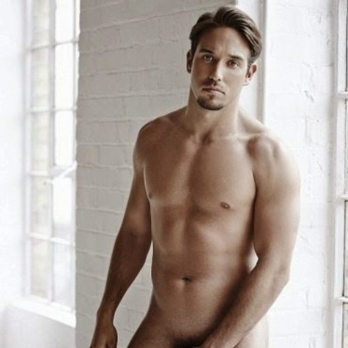 Reality star James Lock strips naked for cancer