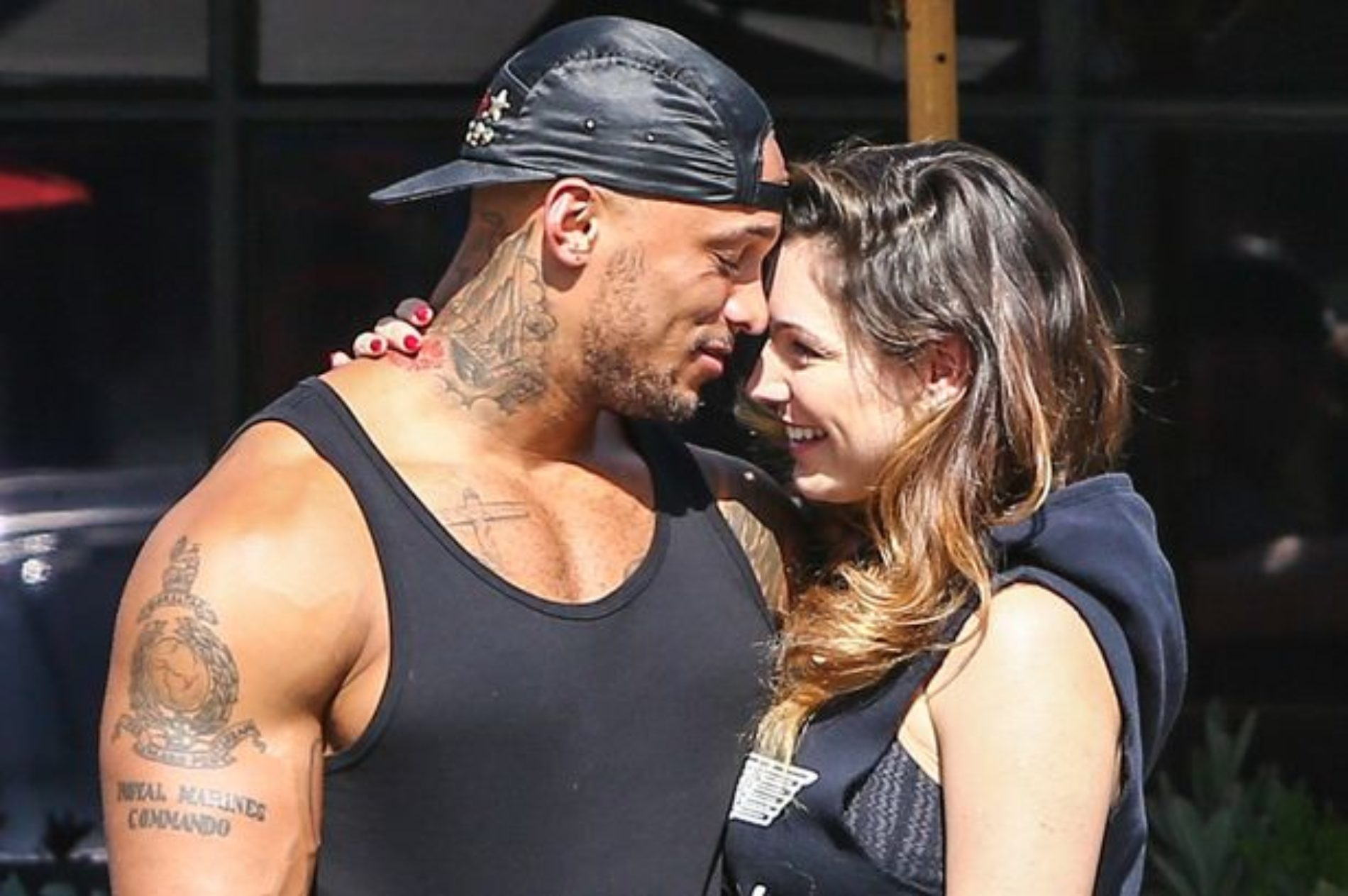 Kelly Brook and David McIntosh are apparently back together