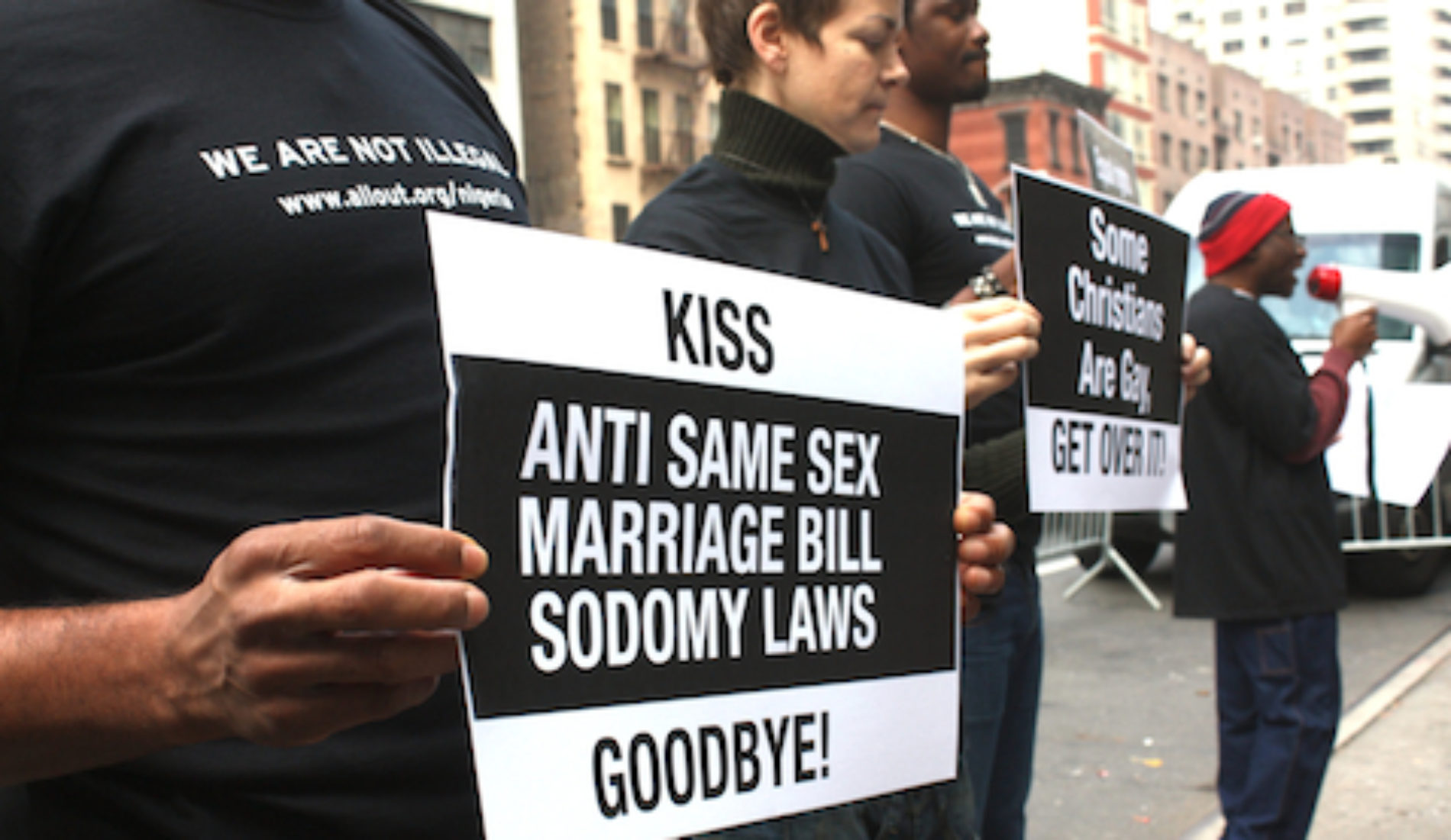High court in Nigeria tosses lawsuit challenging anti-gay law