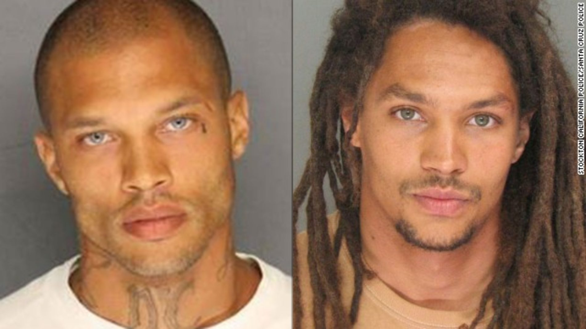 Move Over Jeremy Meeks: New Sexy Mugshot Goes Viral