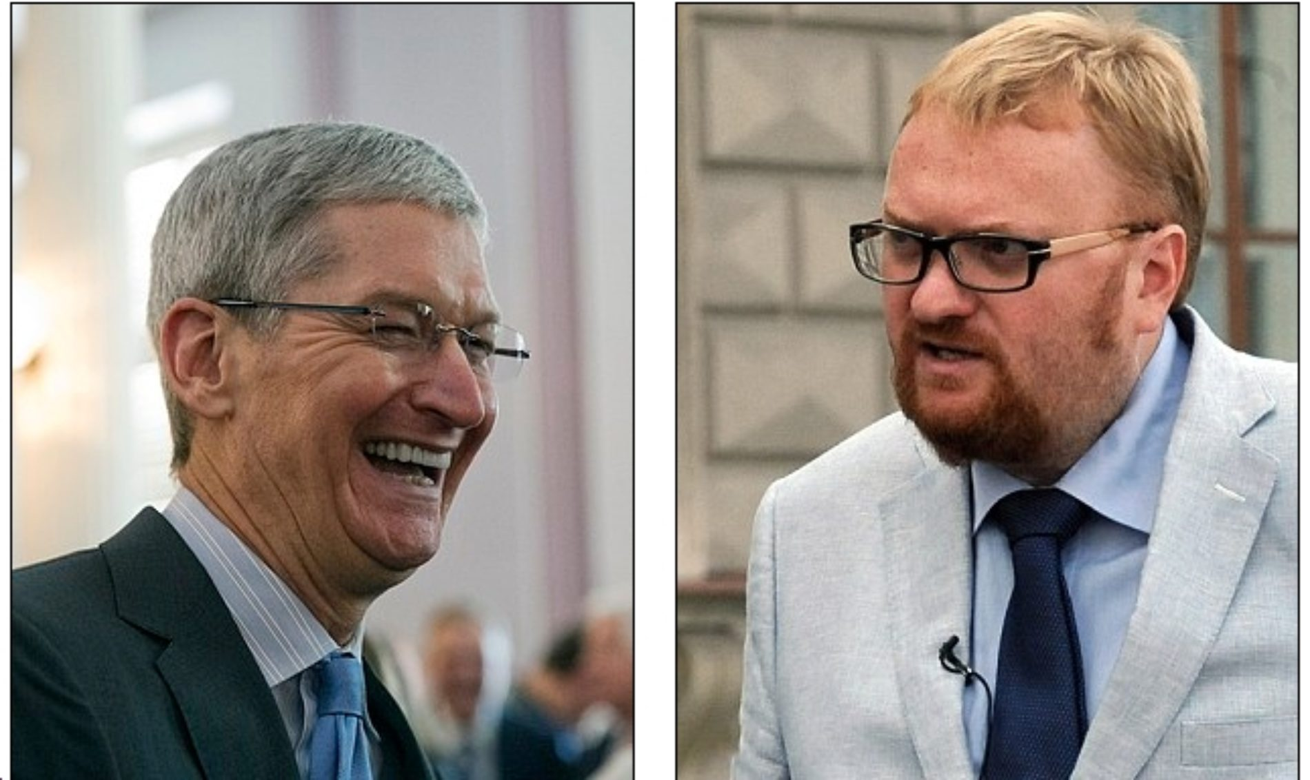 Russian politician expresses his outrage over Apple CEO Tim Cook's coming out