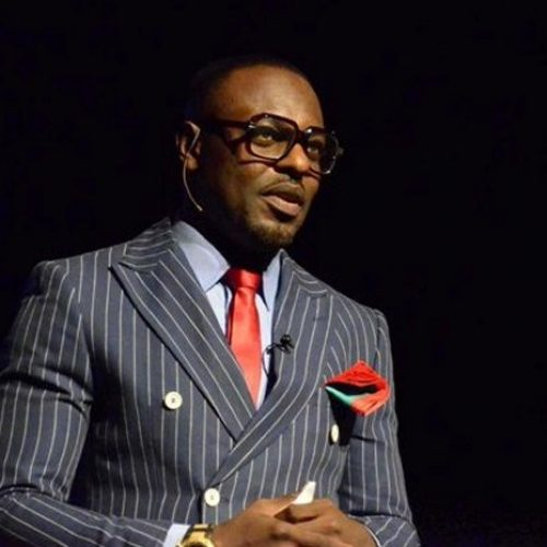 Photo: Evidence Of Jim Iyke's IQ