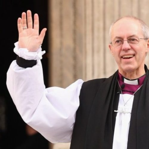 """Who am I to judge gays for their sins, if they have sins?"" – Archbishop of Canterbury"